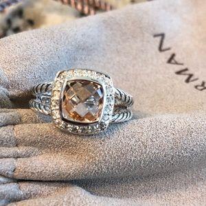 David Yurman Morganite Albion Ring